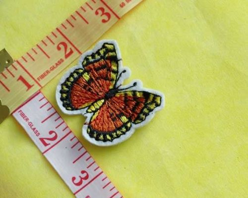 Sew On| iron on |Applique Motif  | Butterfly B02